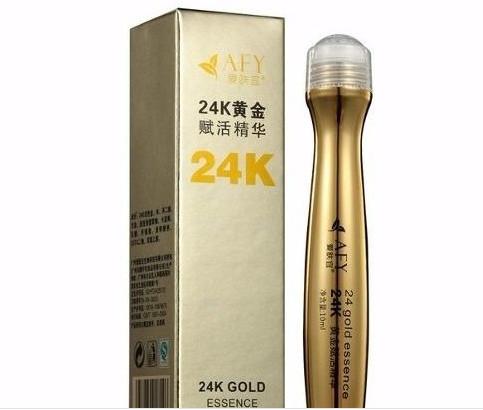 Serum Golden Afy Creme Com Ouro Para Olheiras E Rugas