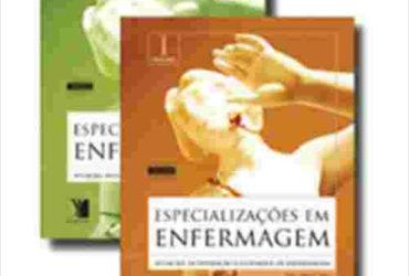 Livro Especializaçoes Em Enfermagem, 2 Volumes