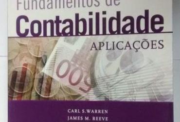 Livro Fundamentos De Contabilidade Aplicações 22ªedição – Carl S Warren