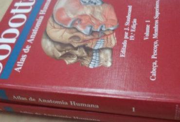 Livro Atlas Da Anatomia Humana – Sobotta – 19ª Edição