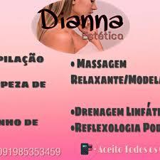 DIANNA ESTÉTICA BELÉM-PA ATENDIMENTOS FEMININO 91 985353459 whatsapp