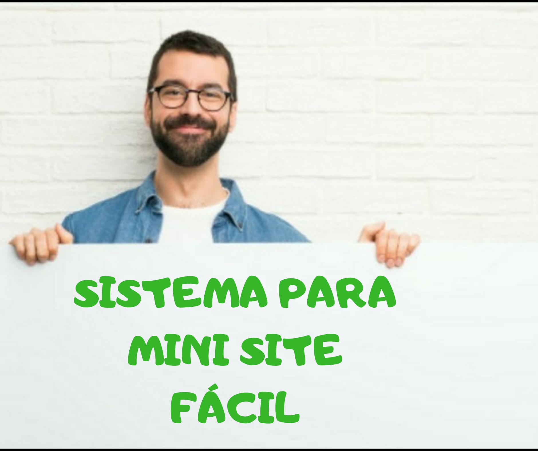 Sistema Para Criar Mini Site Fácil