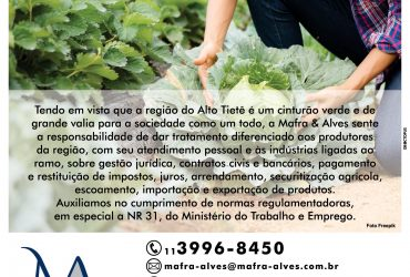 Agronegócio – Mafra & Alves Sociedade de Advogados