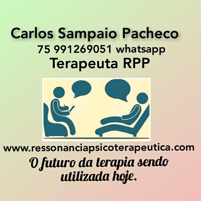 TERAPEUTA DE RPP CARLOS SAMPAIO PACHECO FEIRA DE SANTANA 75 991269051 whatsapp