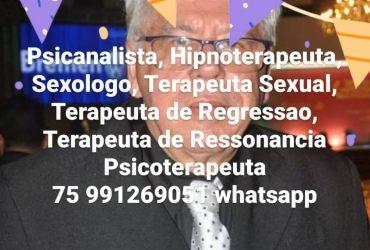 PSICANALISTA CARLOS SAMPAIO PACHECO FEIRA DE SANTANA BA 75 991269051 whatsapp