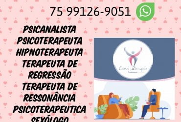 PSICOTERAPEUTA CARLOS SAMPAIO PACHECO FEIRA DE SANTANA BA 75 991269051 WHATSAPP