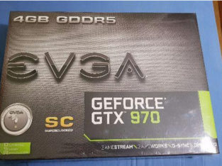 Placa de Video Geforce Gtx970 Sc Evga 4gb Ddr5 256bit Lacrada Nota Garantia (Parcelo 10x)